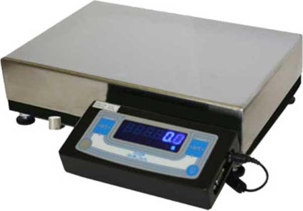 Лабораторные весы высокого II класса точности, встроенная юстировочная гиря, d= 100 мг
